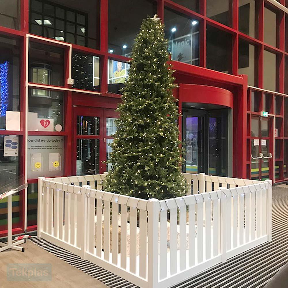Christmas Tree Fence and Guard   Fencing   Tekplas