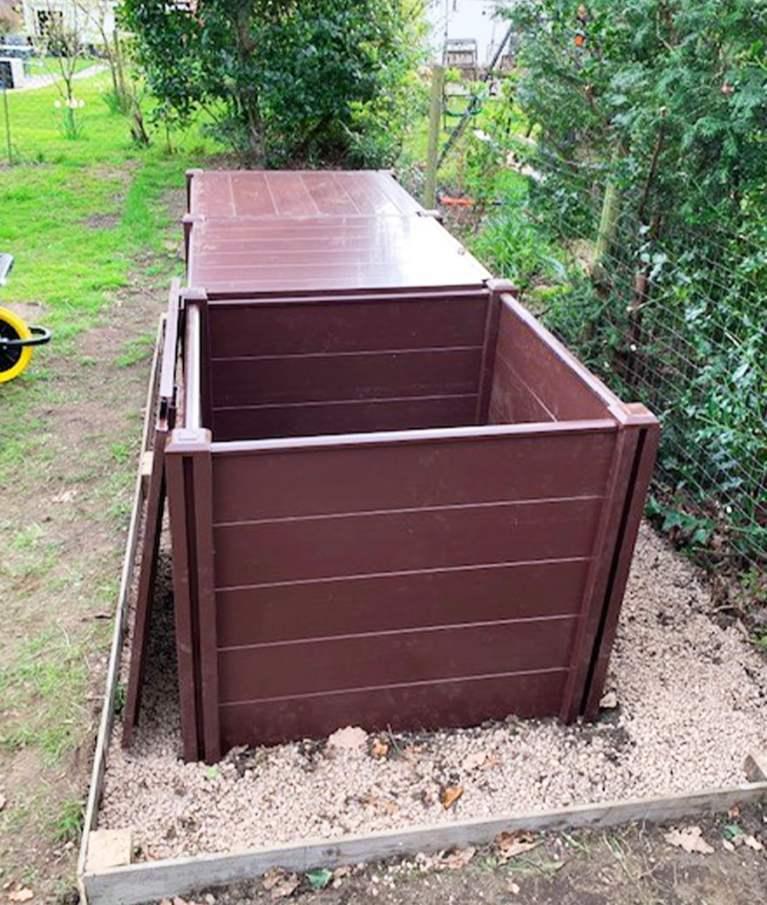 Durable Expandable Compost Bin - Tekplas
