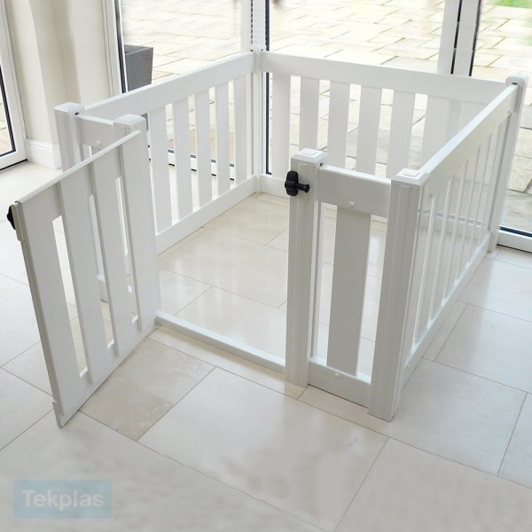 Toddler Playpen With Gate Baby And Tekplas