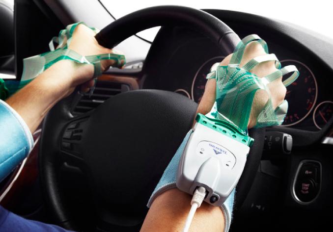 steering wheel ergonomics tekscan