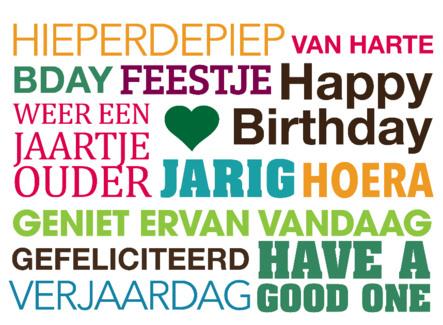Geliefde Verjaardag teksten om iemand te feliciteren. TEKST.NL &KY86