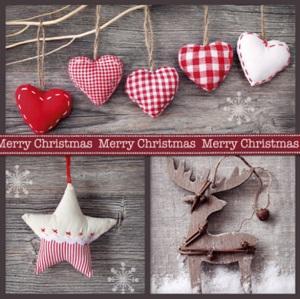 Kerstkaart liefde