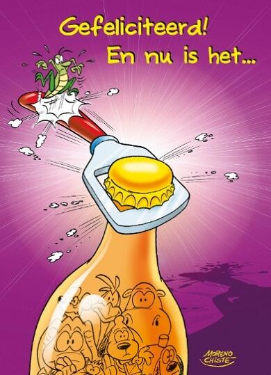 Onwijs GEFELICITEERD HUMOR * Man, vrouw, kind humor felicitatie *TEKST.NL EF-63