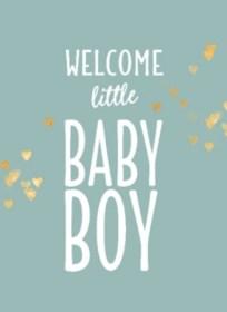 Engels geboortekaartje