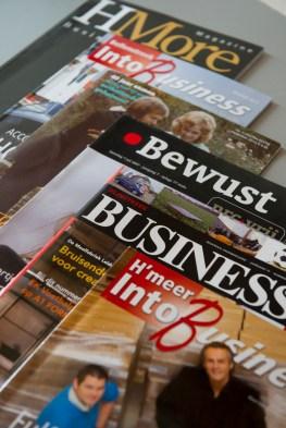 Het werk van Sandra Zuiderduin als hoofdredacteur zakenmagazines
