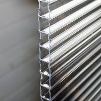 "8mm Twin-Wall Polycarbonate Sheet - 48""W x 96""L - TekSupply"