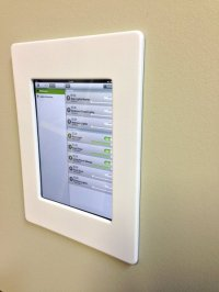 iPod Touch 5th Generation Wall Mount | Tektam Integrations ...