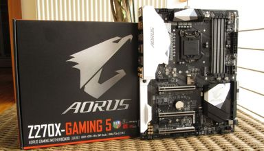 Gigabyte Aorus Z270X Gaming 5 Review