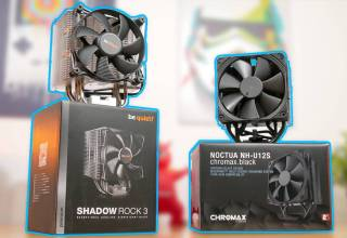 Be Quiet Shadow Rock 3 vs Noctua NH-U12S