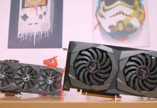 rx580 vs gtx1650super