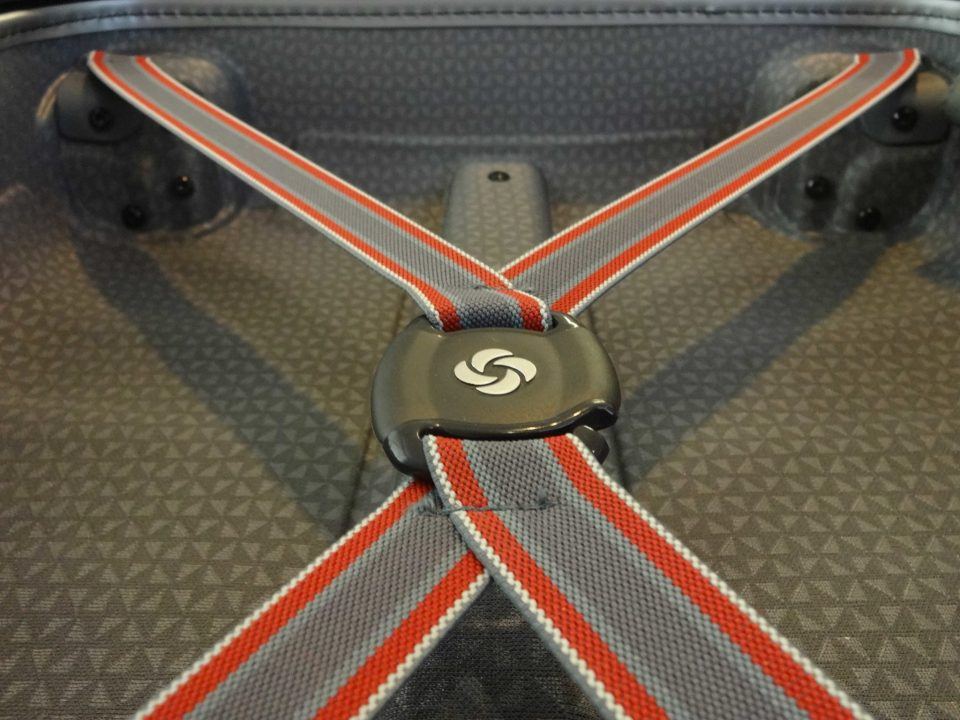 Samsonite Firelite Carry-On Bungie Latch