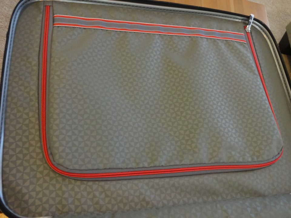 Samsonite Firelite Carry-On Zippered Panel