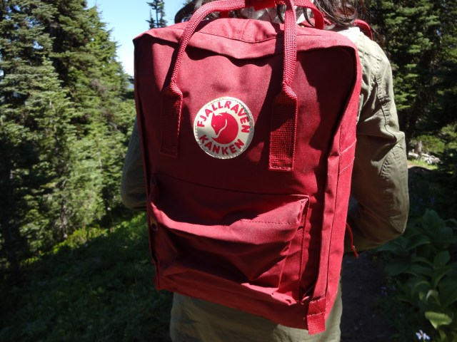 Fjallraven Kanken Laptop 15 - Ox Red backpack