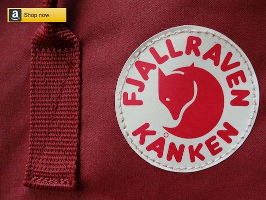 "Shop for Fjallraven Kanken 15"" Laptop backpack on Amazon"