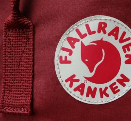 "Fjallraven Kanken logo on the Kanken 15"" Laptop backpack"