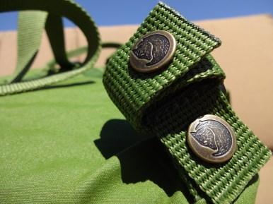 Fjallraven Kanken Mini Leaf Green - Shoulder Strap Button