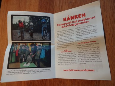 Fjallraven Kanken Mini Pamphlet