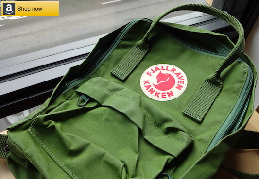 Shop for Fjallraven Kanken Mini - Leaf Green