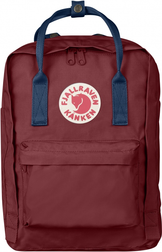 "Fjällräven Kånken Laptop 13"" - Ox Red-Royal Blue"