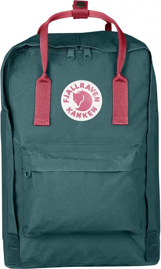 "Fjällräven Kånken Laptop 15"" - Frost Green-Peach Pink"
