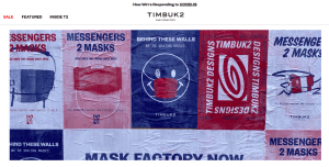 Timbuk2 makes masks