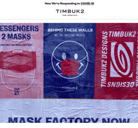 Timbuk2 makes masks