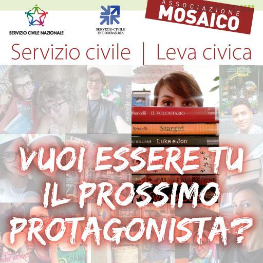 Mosaico – Bando ordinario di Servizio Civile 2016