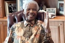 Foto de Mandela. Fuente: TELAM