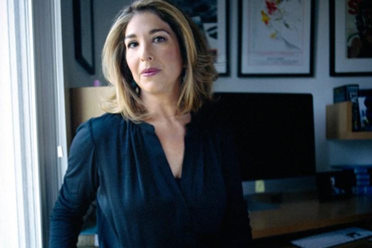 """La autora de """"No logo"""" habló hoy en la Internacional Progresista."""