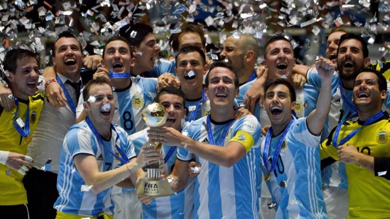 Argentina se prepara para defender la Copa del Mundo obtenida en Colombia. Foto: Archivo