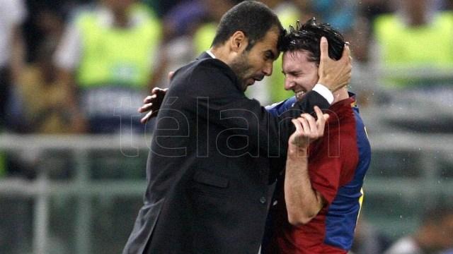 """Los mejor de Messi en Barcelona fue con """"Pep"""" Guardiola"""