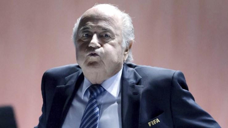 Blatter se encuentra en estado reservado