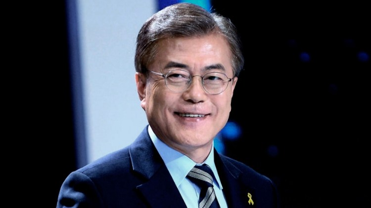 Presidente surcoreano Moon Jae-in