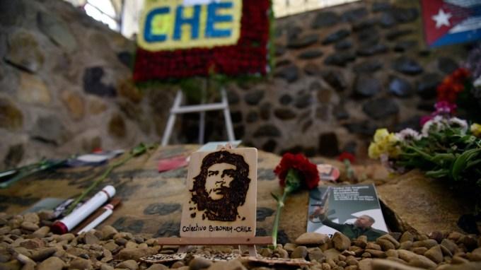 El lugar donde se encontraron los restos de Guevara.