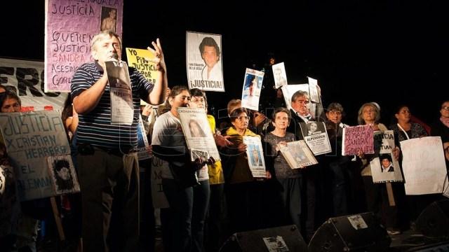Alberto Lebbos, quince años reclamando justicia.