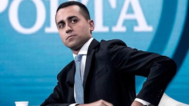 Luigi Di Maio, líder político del oficialista Movimiento Cinco Estrellas