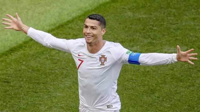 Cristiano Ronaldo se transformó en el máximo goleador de la Eurocopa con 11 tantos.