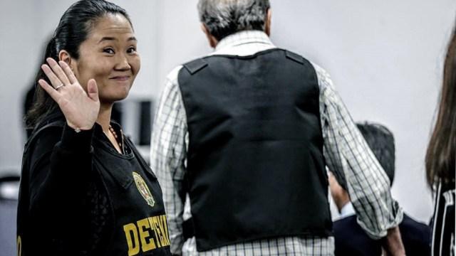 En la causa, Keiko Fujimori está acusada del delito de lavado de activos.