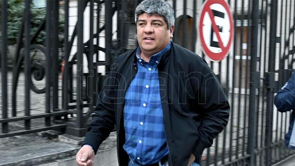 Moyano aseguró que respaldará a la organización que lidera Ricardo Pignanelli en el diferendo con Carlos Acuña.