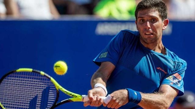 Federico Delbonis consiguió en su carrera dos títulos ATP en San Pablo 2014 y en Marrakech 2016.