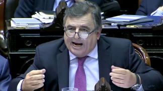 Jefe del interbloque Juntos por el Cambio, Mario Negri