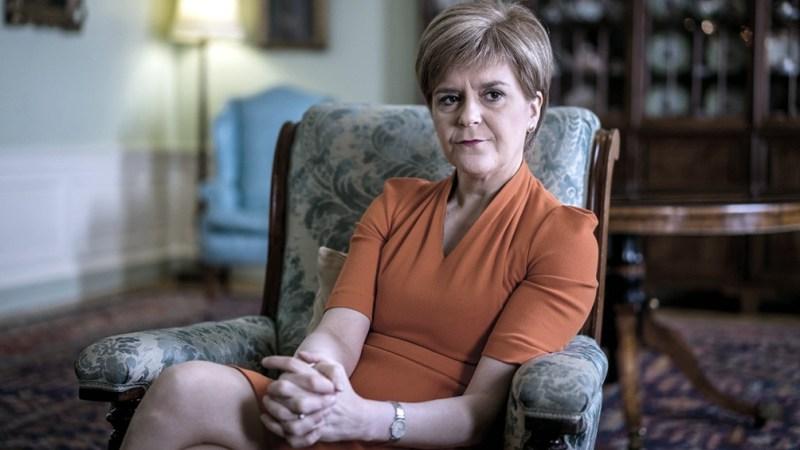 Sturgeon llevó la idea del nuevo referémdum independentista en su plataforma de campaña