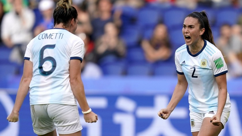 Argentina sumó sus primeros dos puntos en la historia de las Copas del Mundo en Francia 2019 ante Japón y Escocia