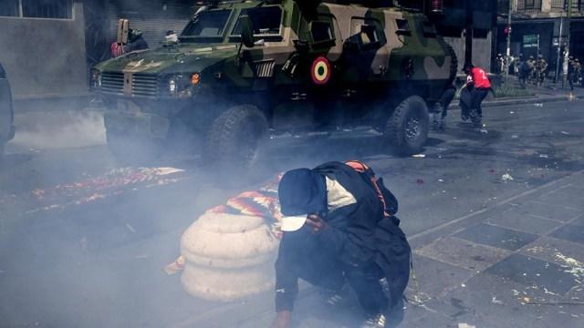 Habrían sido decenas de miles los cartuchos de balas de goma enviados al país vecino junto con granadas de gases lacrimógenos y un arsenal represivo.