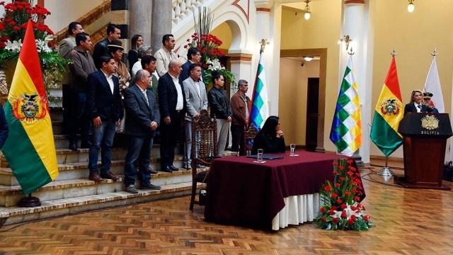 Jeanine Áñez y sus secuaces, hoy en prisión o prófugos.