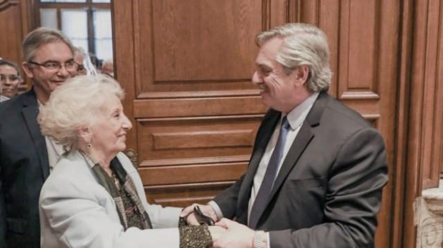 El encuentro con el presidente Alberto Fernández.