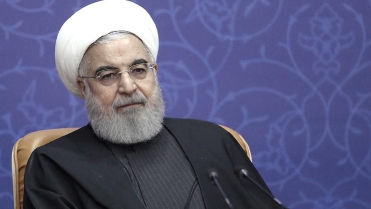 El presidente Hasan Rohani dio la orden para enriquecer uranio al 20% en la central nuclear de Fordo