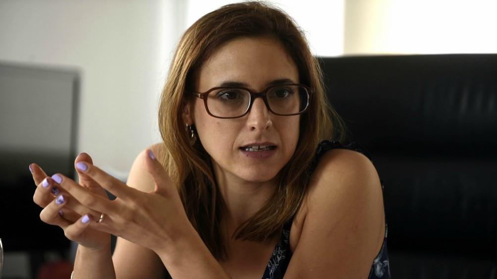 """La ministra de Trabajo, Mara Ruiz Malec, contó que el plan apunta a generar """"empleos de calidad""""."""