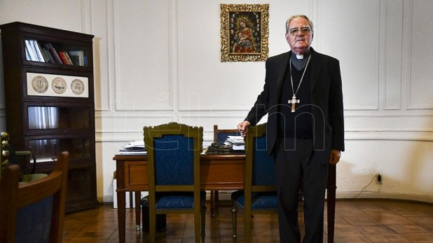 Monseñor Oscar Ojea, presidente de la Conferencia Episcopal Argentina