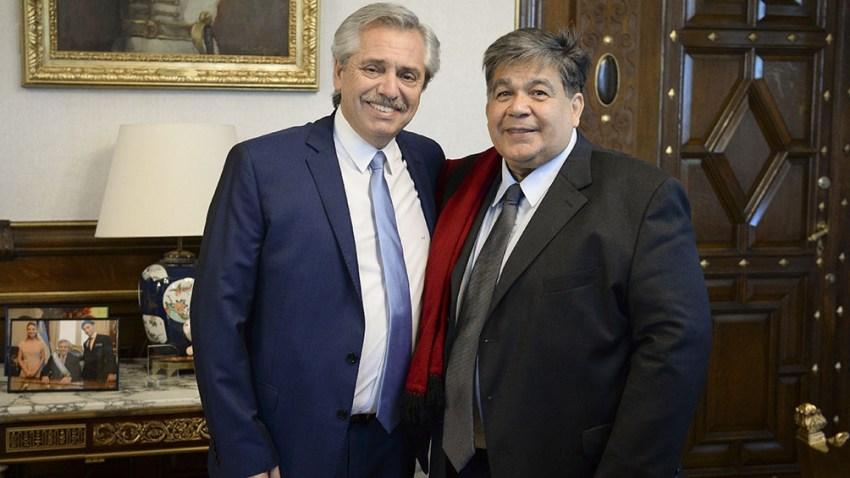 Alberto Fernández y Mario Ishii. Foto: Archivo.